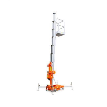 Mast telescoop werkhoogte 12mtr