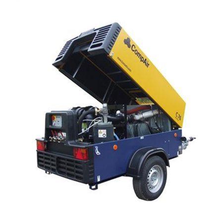 Dieselcompressor 3,1m3nakoeler