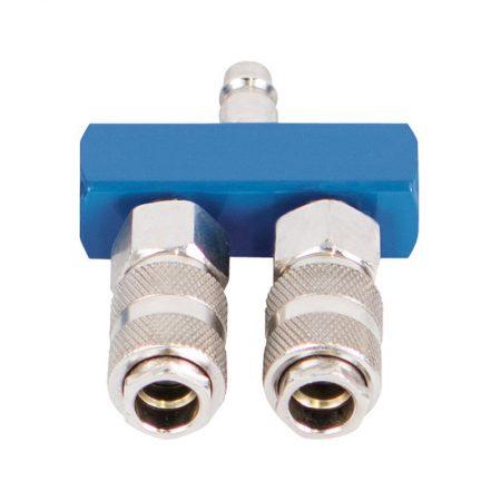 T-stuk voor electro compressor