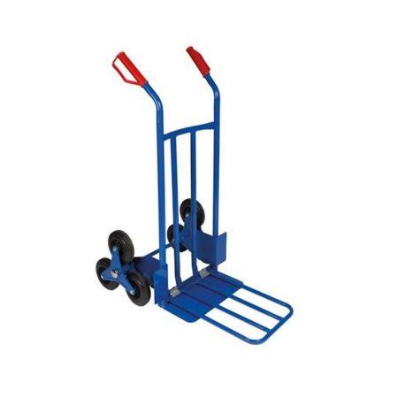 Steekwagen traploper 6 wielen