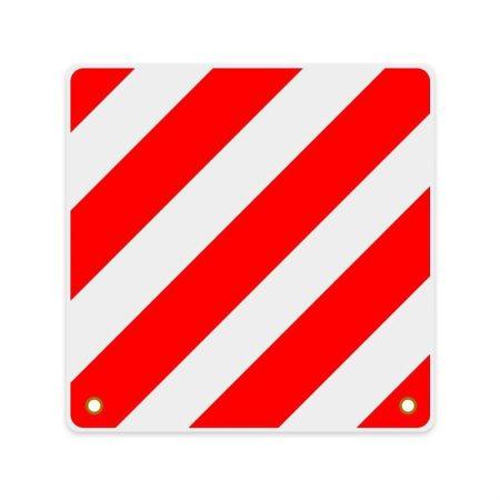 Bord rood/wit uitstekende lading
