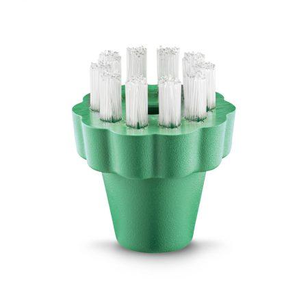 Round brush green pekalon STR104