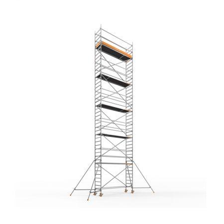 Aluminiumsteiger 14,20m1 smal 3