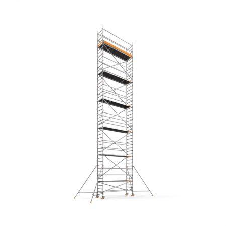 Aluminiumsteiger 14,20m1 smal