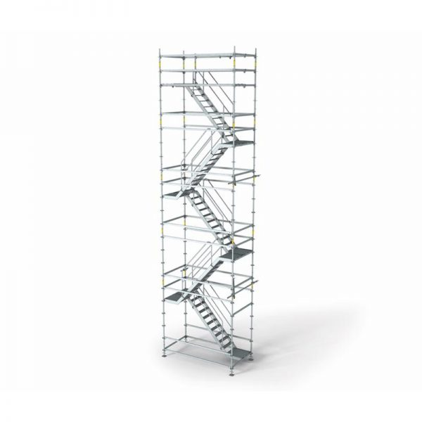 Traptoren 2 m hoog