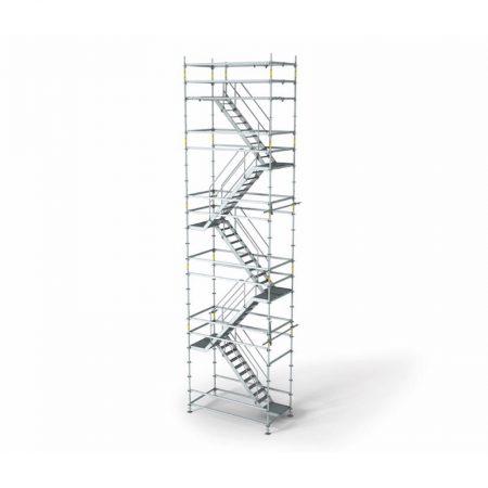 Traptoren 18 m hoog