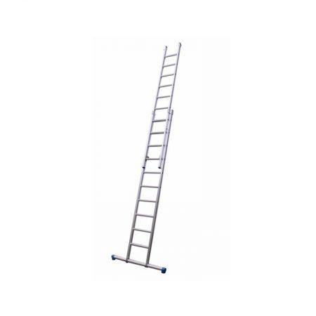 Opsteekladder 2x14 treden 6,50 mtr