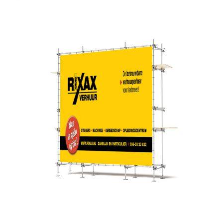 Frame 215x265cm tbv steigerdoek