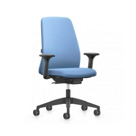 Bureaustoel Phoenix blauw/grijs