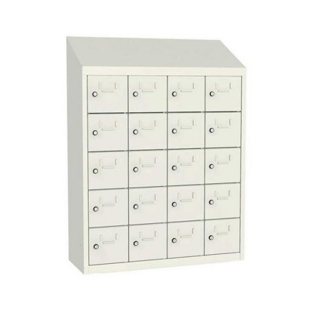 Locker 20 kastjes met sleutel 20x33