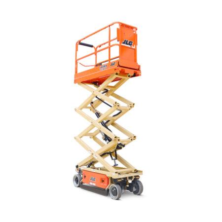 Schaar-hoogwerker-werkhoogte-7.60m-elektrisch