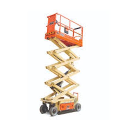 Schaar-hoogwerker-werkhoogte-9,77m-elektrisch