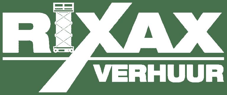 Rixax logo wit